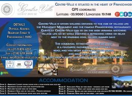 Centre Ville Guest House | Accommodation Franschhoek, Western Cape