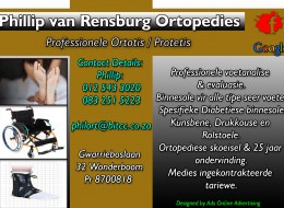 Ortotis Protetis  / Phillip van Rensburg Ortopedies