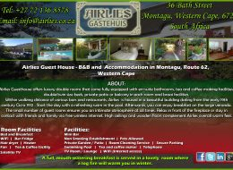 AIRLIES GUESTHOUSE  | ACCOMMODATION IN WESTHERN – CAPE