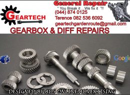 GEARTECH – Gearbox and Diff Repairs | George, Western Cape