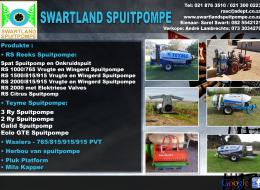 Swartland Spuitpompe Franschhoek, Weskaap