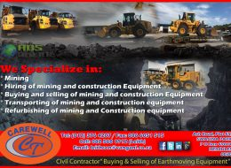 Leithcons Earth Moving and Carewell Trading | Mining Contractors – Pretoria, Gauteng