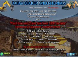 Johan Bekker Ondernemings