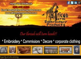 African Farm Products | Kimberley, Northern Cape