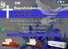 DM Begrafnisdienste | Delmas, Mpumalanga