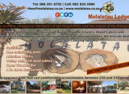 Molalatau Lodge | Lephalale | Bed and Breakfast and Selfcatering Accommodation