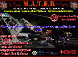 M.A.T.E.R – Medical and Tactical Emergency Response Services, Brits, North West