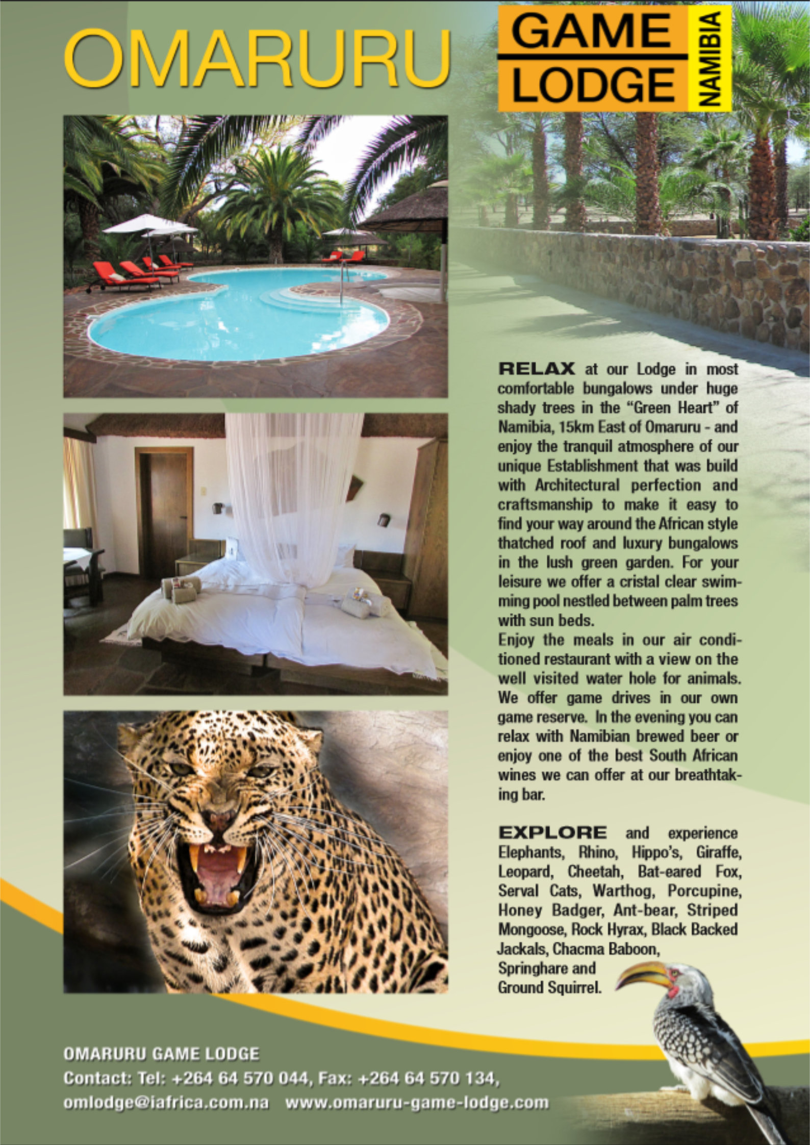 Omaruru Game Lodge | Namibia