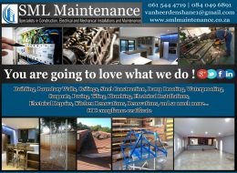 SML MAINTENANCE CONSTRUCTION ELECTRICAL   Pretoria North, Gauteng & National
