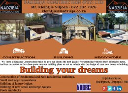 Nadzieja Construction (Pty) Ltd | Hoedspruit, Limpopo