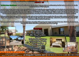 DE OUDE STOOR GUEST HOUSE   Northern Cape – SELF CATERING GUEST COTTAGES AUGRABIES