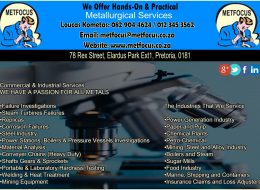 Metfocus Metallurgical Services | Pretoria, Gauteng