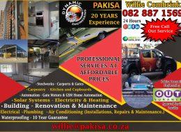 PAKISA – DYNAMIC ENGINEERING   Montana, Pretoria, Gauteng