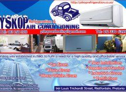 Yskop Refrigeration & Airconditioning | Rietfontein, Pretoria