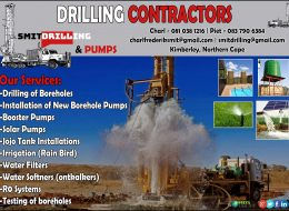 Smit Drilling & Pumps | Drilling Contractors Kimberley, Northern Cape