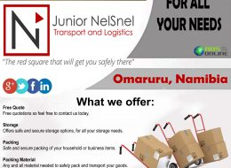 Junior NelSnel – Transport & Logistics – Professional Transport Services | Omaruru, Namibia