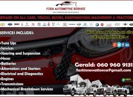 FISA AUTOMOTIVE SERVICE – Kameeldrift East, Pretoria, Gauteng