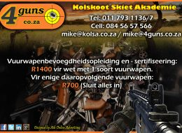 Kolskoot Skiet Akademie | Strijdompark, Randburg, Gauteng