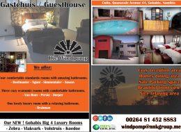Die Windpomp Gastehuis / Guesthouse – Gobabis, Namibia
