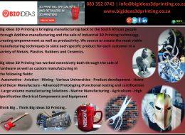 Big Ideas – 3D Printing | Alberton, Gauteng