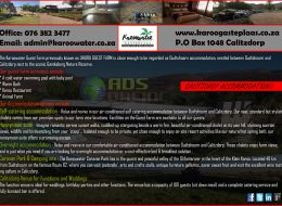 Karoowater Gasteplaas | Calitzdorp Accommodation, Western Cape