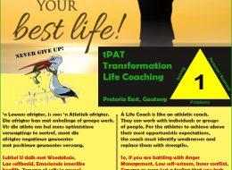 1PAT TRANSFORMATION LIFE COACHING | Pretoria East, Gauteng