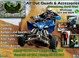 All Out Quads & Accessories | Rustenburg, North West