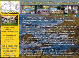 Bella Marlichelle Villa Accommodation | Ramsgate, South Coast, Kwa-Zulu Natal