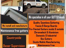 Exclusive Gutters | Onderstepoort, Pretoria, Gauteng