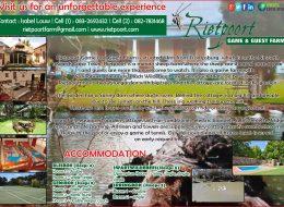 Rietpoort Game & Guest Farm | Trompsburg, Free State