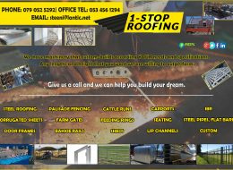 1-Stop Roofing – Steel manufacturers and suppliers | Jan Kempdorp, Northern Cape