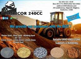 Ambicor 240 cc – SAND AND STONE Suppliers | Kimberley, Northern Cape