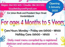 Bizzy Feet Daycare | Vanderbijlpark, Gauteng