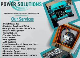 Rellom Power Solutions – 24 Hour Generator Field Services   Klerksdorp, North West