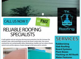 TK ROOFING – Reliable Roofing Specialists   CARLETONVILLE, GAUTENG