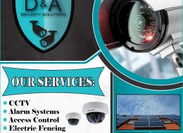 D & A Security Solutions – Your Complete Home Security Solutions | Rustenburg, North West