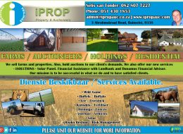 iPROP Property & Auctioneers – Selling of Farms and Properties | Bainsvlei, Bloemfontein, Free State