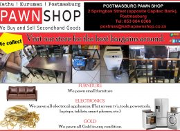 Postmasburg – Buy, Sell and Pawn | Postmasburg, Northern Cape