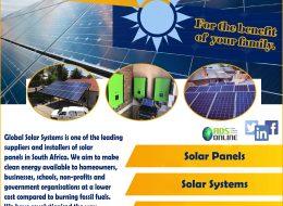 Global Solar Systems | Oudtshoorn, Western Cape