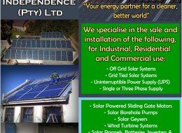 Grid Power Independence (Pty) Ltd – Solar Energy | Klerksdorp, North West