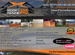 Roof & Fence Pro | Tzaneen, Limpopo