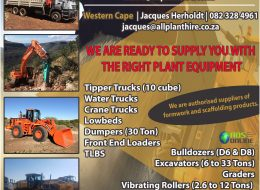 ALL PLANT HIRE | Northern Cape & Western Cape