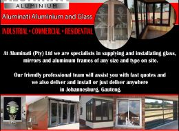 Aluminati Aluminium and Glass | Johannesburg, Gauteng
