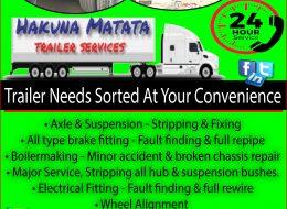 Hakuna Matata Trailer Services | Germiston, Gauteng (Nationally Available)
