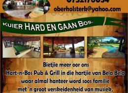 Hart -n- Bos Pub & Grill   Roodepoort, Bela Bela