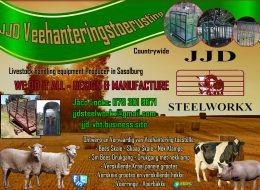 JJD Veehanteringstoerusting – Livestock handling equipment   JJD STEELWORKX – Sasolburg (Countrywide Available)