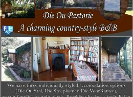 Die Ou Pastorie – A charming country-style B&B | Fouriesburg, Free State