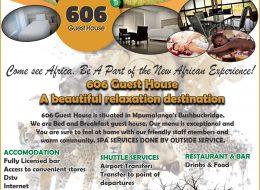 606 Guest House – Accommodation | Bushbuckridge, Mpumalanga