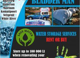 Bladder Man – Water Storage | Mpumalanga