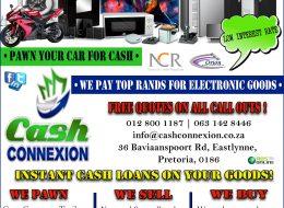 Cash Connexion | PTA EAST & MOOT